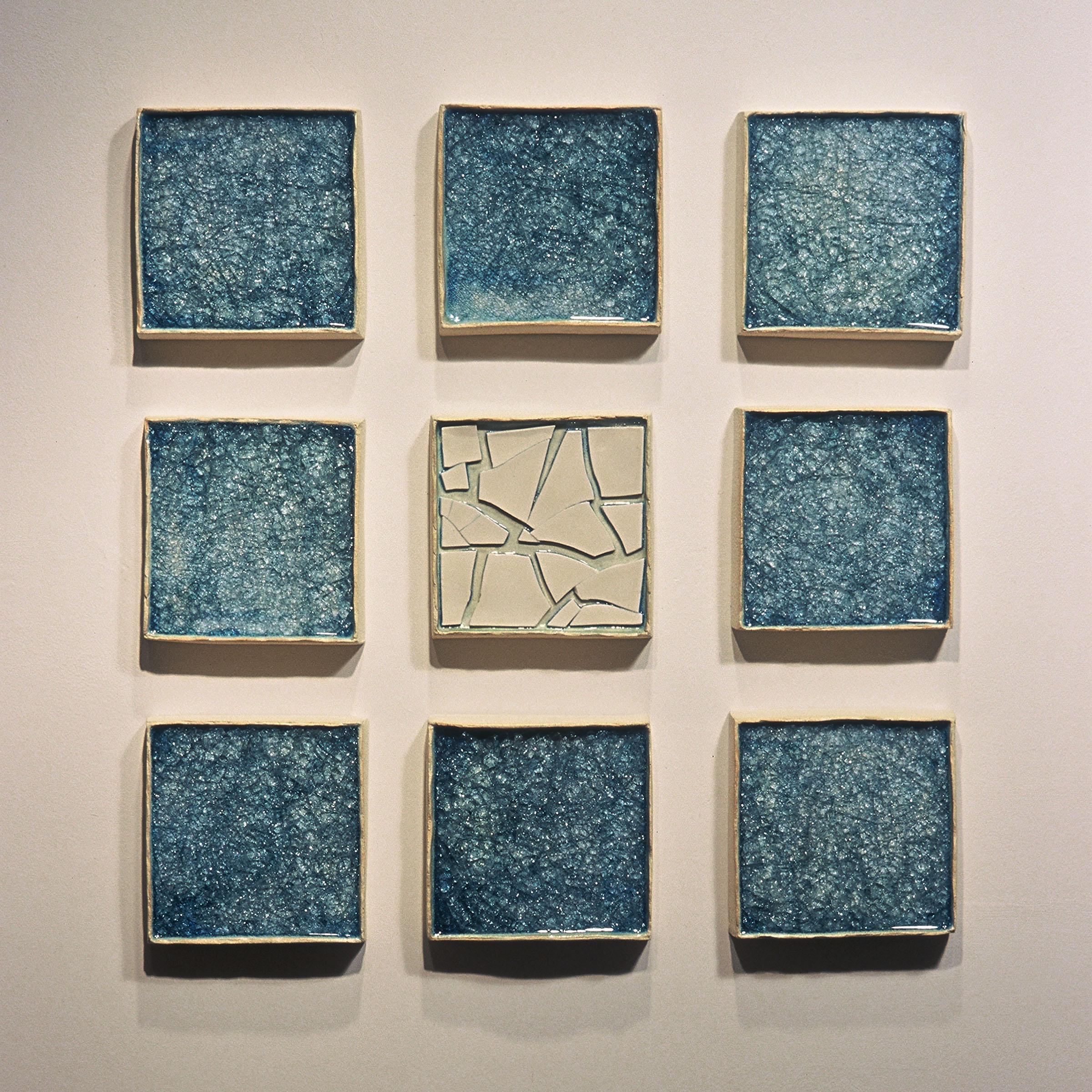 Surrounded I (9 panels)
