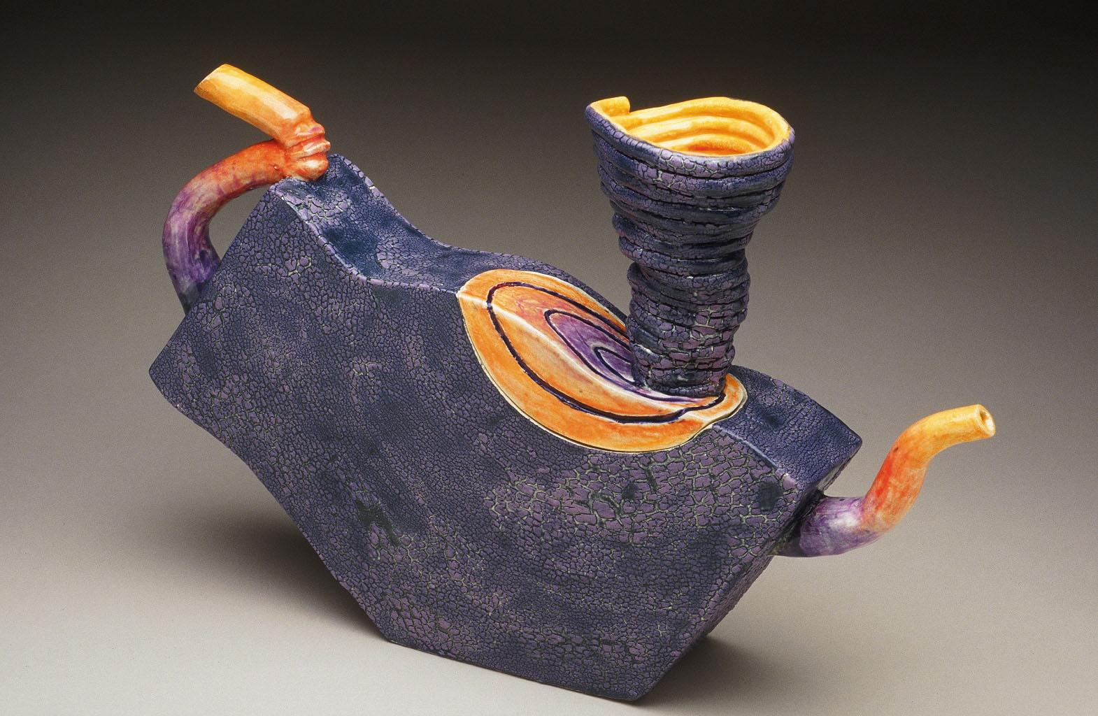 Tornado Teapot